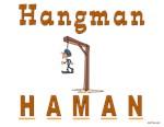 Purim Hangman Haman
