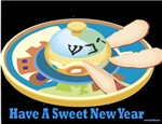 Sweet Jewish New Year Rosh Hashana Cards
