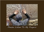 LIsten To My Prayers Rosh Hashanah Card
