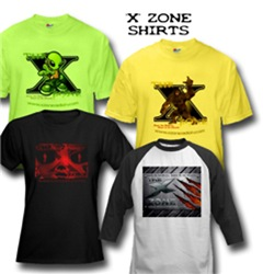The 'X' Zone Shirts