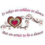 An Athlete to Dance