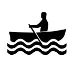 1516 Rowboat Sign