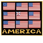 1705 9 Flags of America