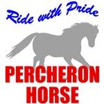 Ride With Pride Percheron Horse
