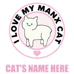 Personalized Manx Cat T-Shirts