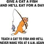 Teach A Cat To Fish