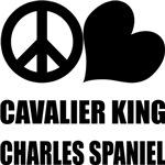Peace Love Cavalier King Charles Spaniel