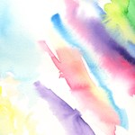Rainbow in Paint