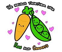 Together like Peas & Carrots