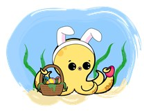 Easter Octopus