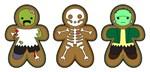 Gingerbread Monsters