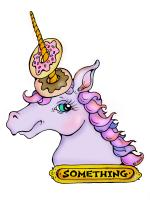Unicorn With Donuts Horn