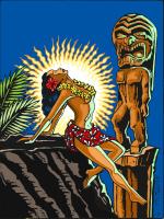 Hawaiian Beauty & Tiki God