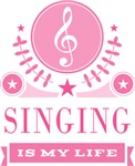 Singing Is My Life Quote Music Gifts