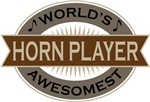 Horn Player (World's Awesomest) Tshirt Gifts
