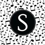 Music Monogram Letter S Gifts
