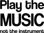 Play the Music Quote T-shirts