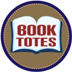 BOOK TOTE BAGS FOR LIBRARY AND SHOPPING