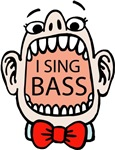 I SING BASS T-shirts and Gifts