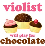 Chocolate Viola t-shirts and gifts