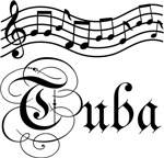 Stylish Tuba Music Tee Shirts and Hoodies