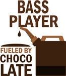 Bass Player Fueled By Chocolate Gifts