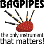 Bagpipes Music Shirts and Hoodies