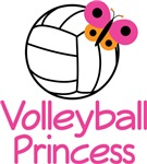 VOLLEYBALL PRINCESS T-SHIRTS AND GIFTS