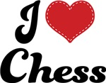 I Heart Chess T-shirts and Gifts
