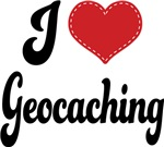 I Heart Geocaching T-shirts and Gifts