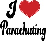 I Heart Parachuting T-shirts and Gifts