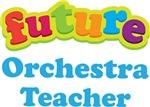 Future Orchestra Teacher Kids Music T-shirts