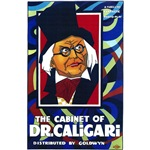 The Cabinet Of Dr. Caligari Silent Movie Poster