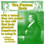 The Person Born