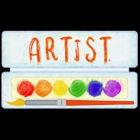 Artist Art Paint Palette