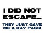 I Did Not Escape They Just Gave Me a Day Pass