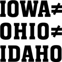 Iowa Ohio Idaho