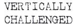 Vertically Challenged