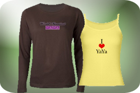 T-Shirts and Gifts for YaYa