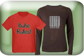 Bubbe, Bube, or Bubbie Gifts and T-Shirts