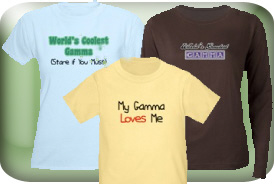 Gamma Gifts and T-Shirts