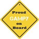 Proud Gampy on Board