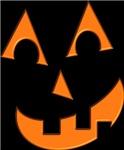 Carved pumpkin Jack O' Lantern!