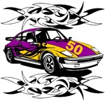 Sportscar 50th Birthday Gifts.