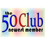 50th Birthday Gifts, The 50 Club!
