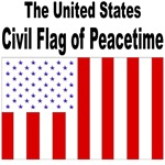 U.S. Civil Flag Tshirts