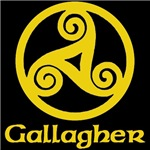 Gallagher Celtic Knot (Gold)