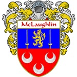 McLaughlin Coat of Arms (Mantled)