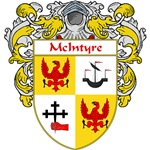 McIntyre Coat of Arms (Mantled)