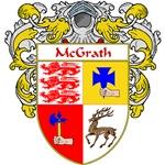 McGrath Coat of Arms (Mantled)